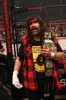 Mick Foley Wins TNA Heavyweight Title At Lockdown