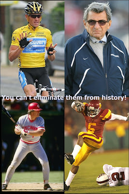 Why Change Sports History? You Can't Change What Happened