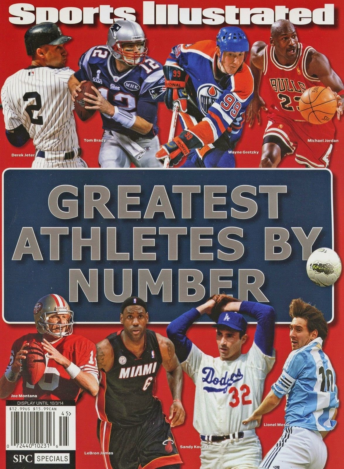 Debate: Greatest Athletes By Number According To Sports Illustrated