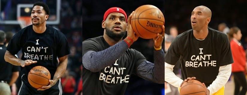 """Boycotting Athletes Who Wear """"I Can't Breathe"""" Shirts"""
