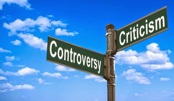 The Corner Of Controversy And Criticism- 1/4/2015