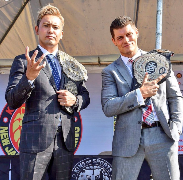 Results And Review Of New Japan's US G1 Special