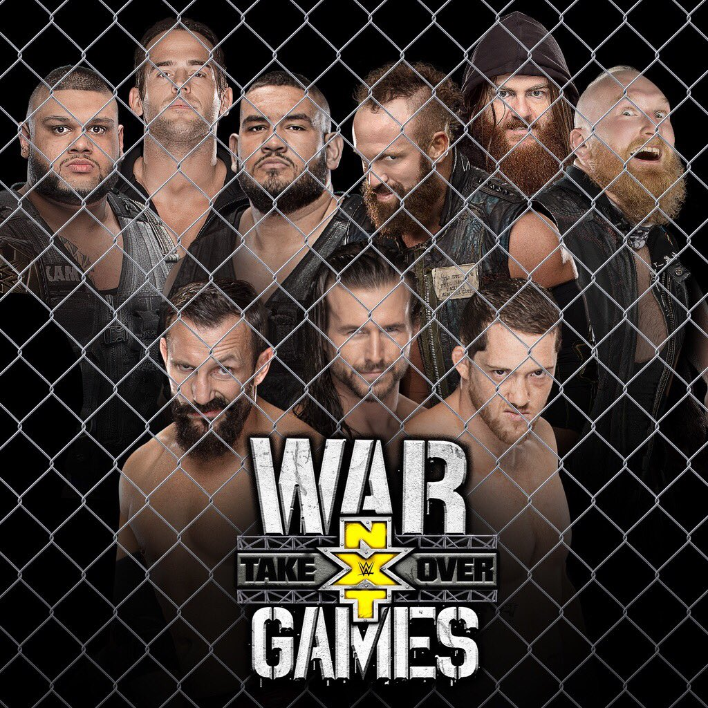 Results, Recap, Review Of NXT TakeOver War Games