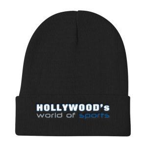 Hollywood (Black) Knit Beanie