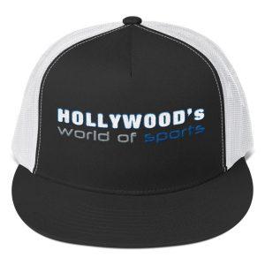 Hollywood (Black/White) Trucker Cap