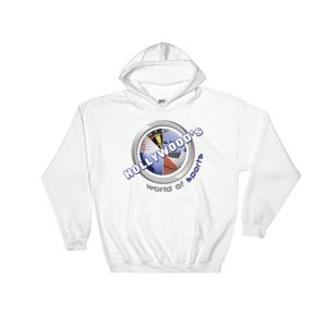 Hollywood (White) Hooded Sweatshirt