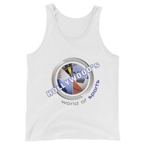 Hollywood (White) Unisex Tank Top