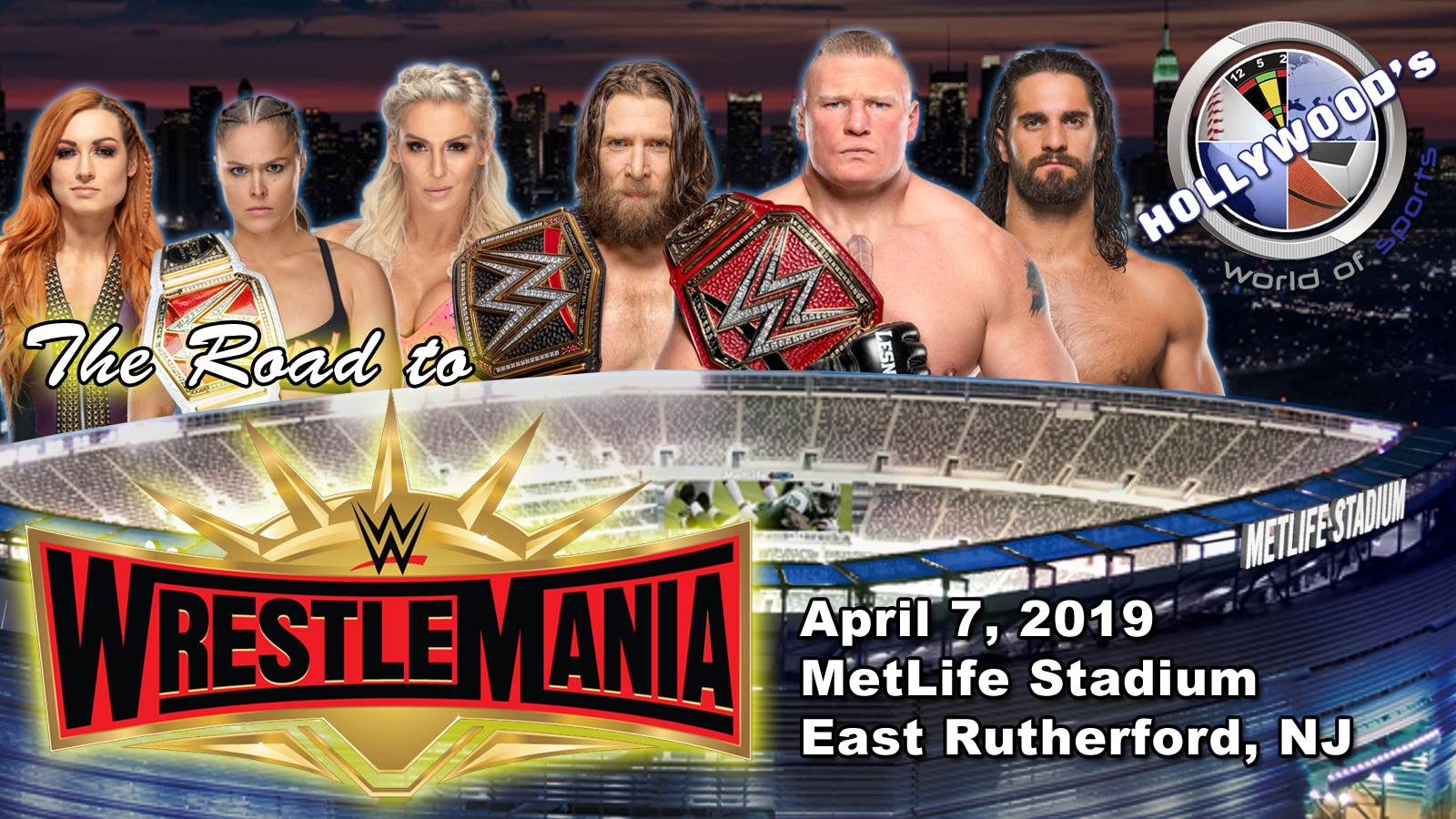 Road To WWE Wrestlemania 35: Week 8
