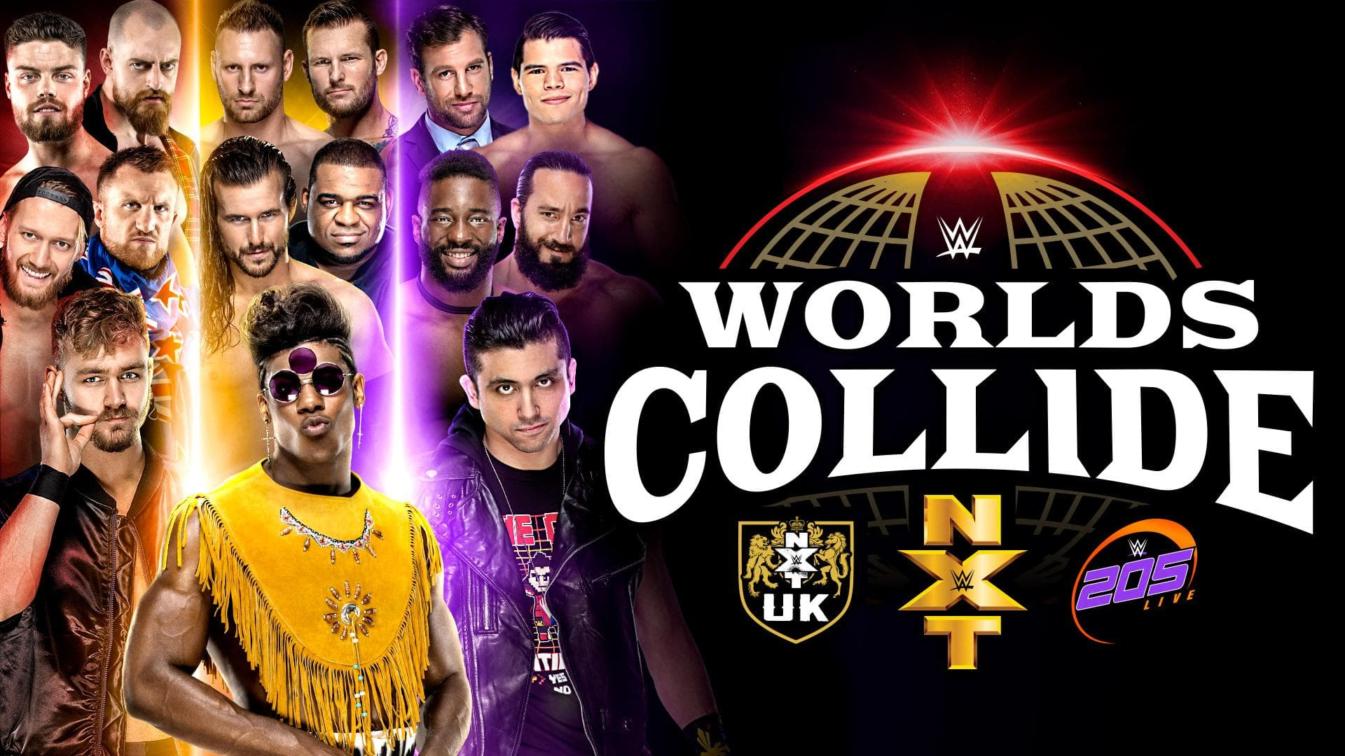 Results, Recap, Review Of WWE Worlds Collide(Featuring NXT, NXT UK, 205 Live)