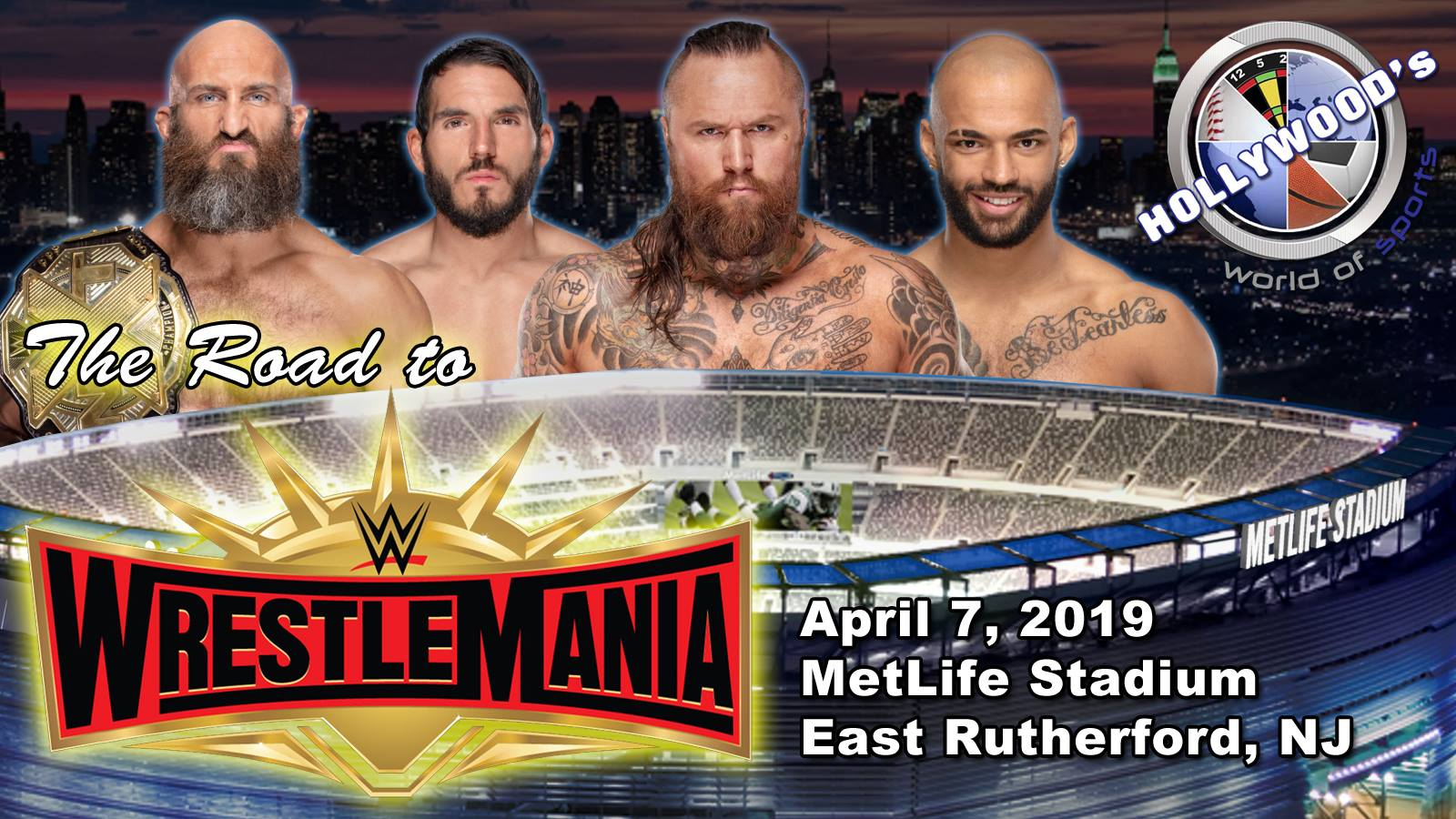 Road To WWE Wrestlemania 35: Week 7